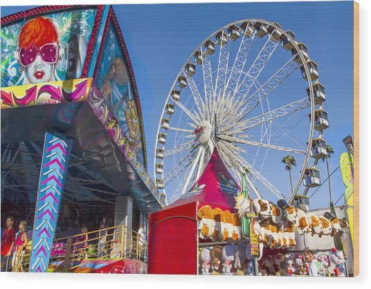 County Fair Fun 1 Wood Print