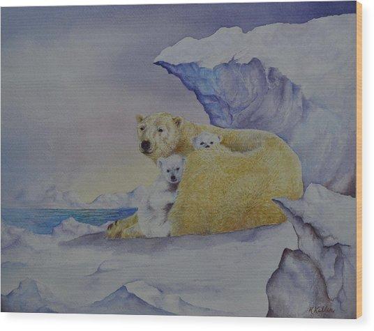 Cozy Warm Wood Print by Kathleen Keller