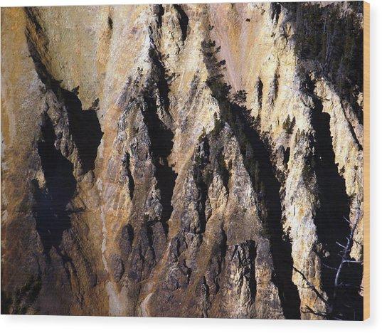 Crag Wood Print