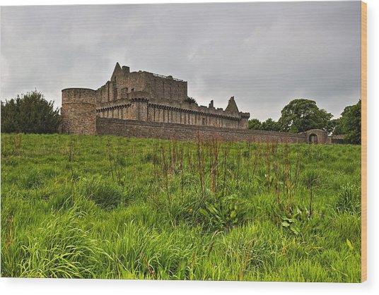 Craigmillar Castle Wood Print