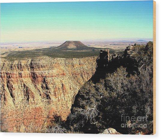 Crater At Grand Canyon Wood Print by John Potts