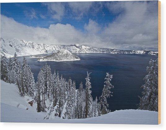Crater Lake 040913a Wood Print
