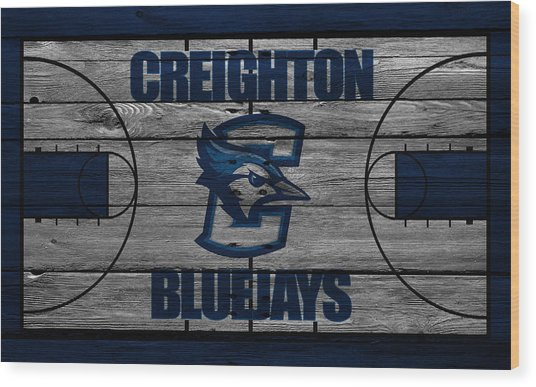 Creighton Bluejays Wood Print