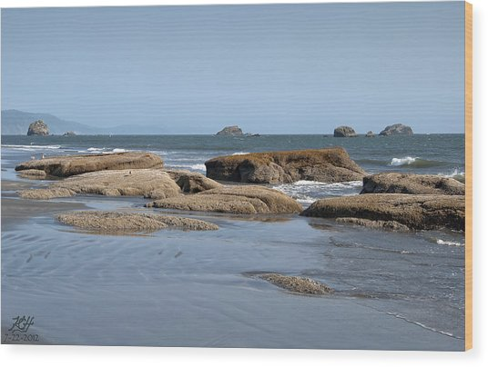Crescent City Wood Print by Kenneth Hadlock