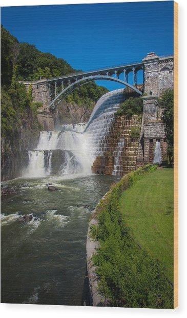 Croton Dam 1 Wood Print