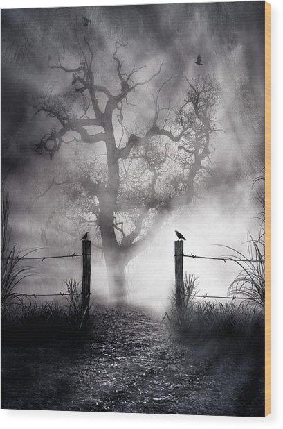 Crow Hallow Wood Print