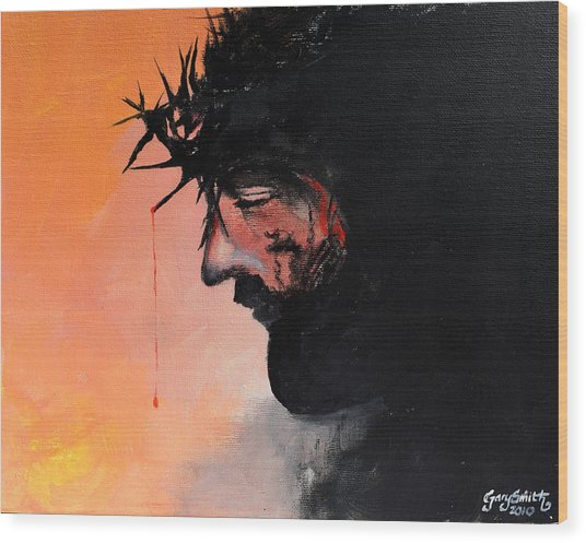 Blood Of The Redeemer Wood Print