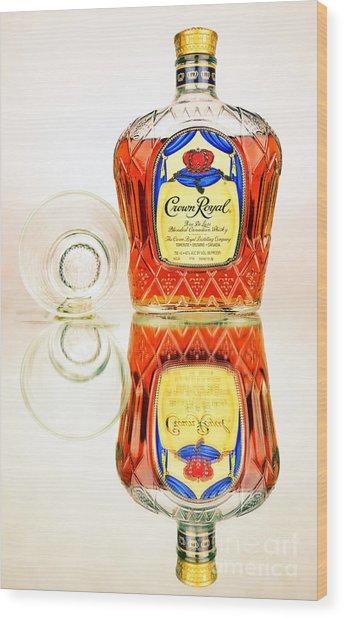 Crown Royal 3 Wood Print