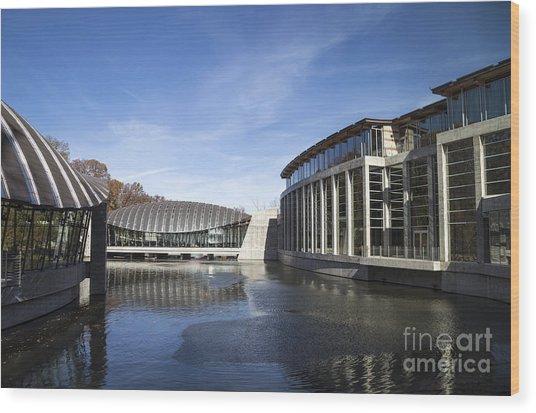 Crystal Bridges Museum Of American Art Wood Print