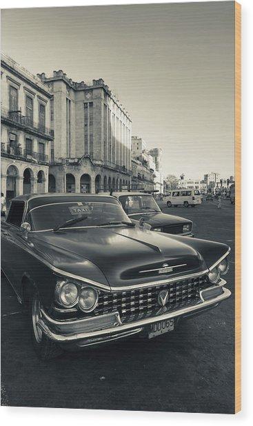 Cuba, Havana, Havana Vieja, Detail Wood Print by Walter Bibikow