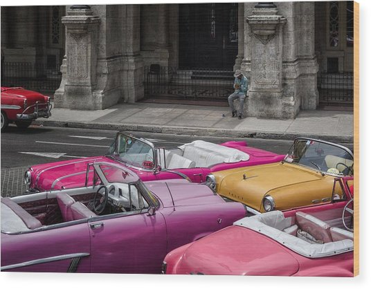Cuban Dream Wood Print