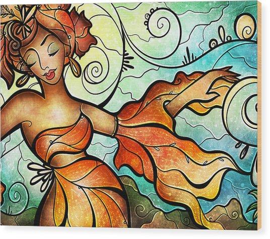 Cubana Wood Print