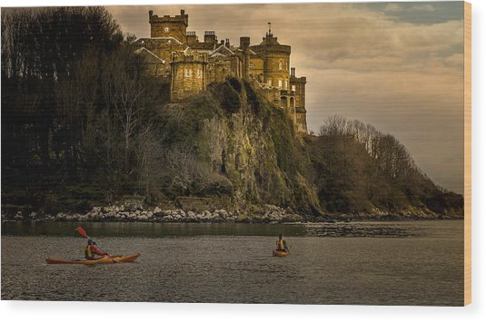 Culzean Castle Scotland Wood Print