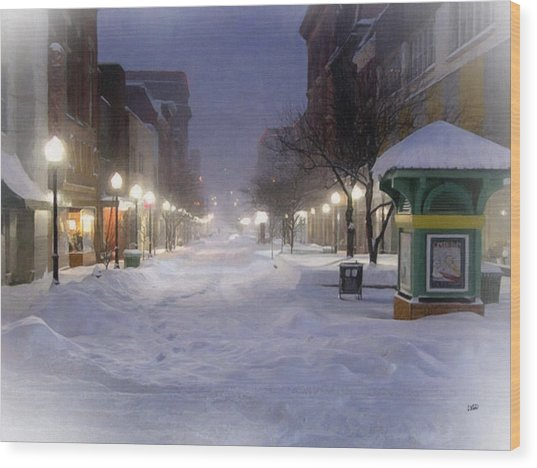 Cumberland Winter Wood Print