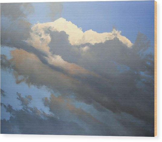 Cumulus 2 Sold Wood Print