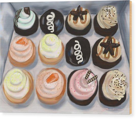 Cupcake Charlies Wood Print