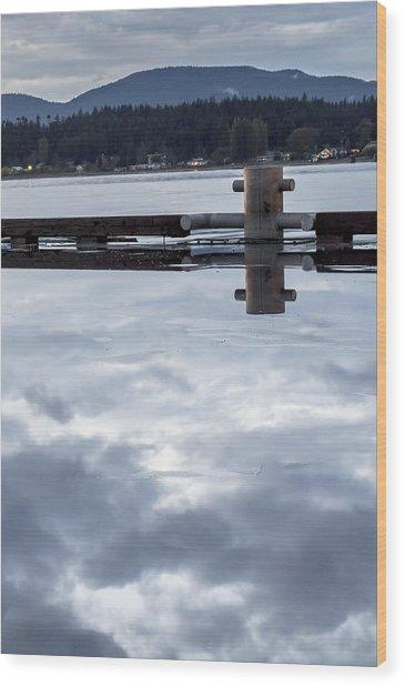 Curtis Wharf Wood Print