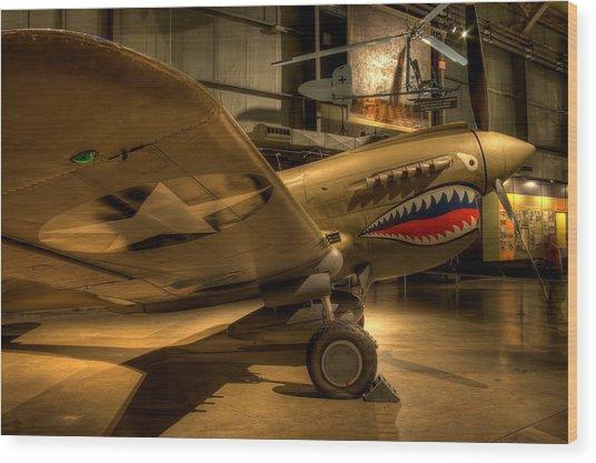 Curtiss P-40 Warhawk Wood Print
