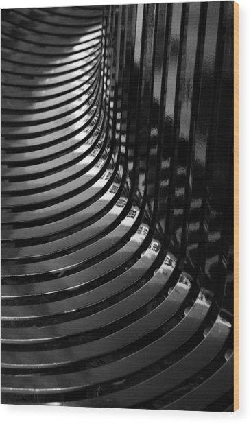 Curved Wood Print