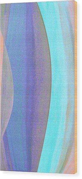 Curves1 Wood Print