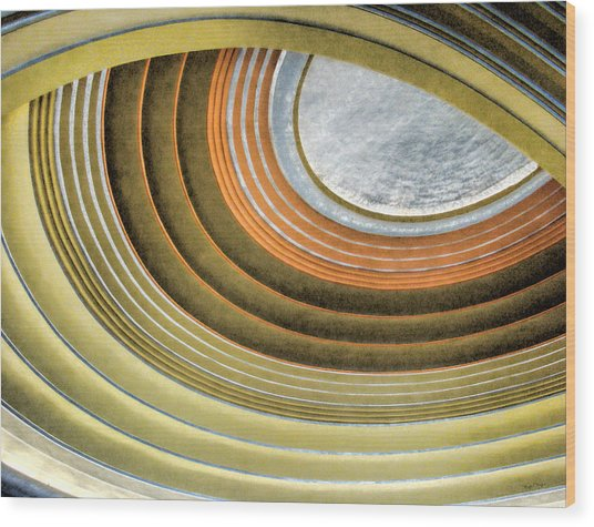 Curving Ceiling Wood Print