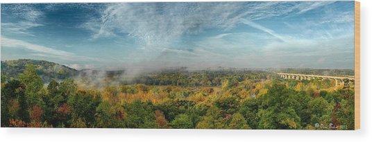 Cuyahoga Valley Panarama Wood Print