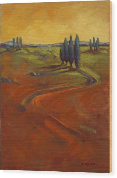 Cypress Hills 3 Wood Print