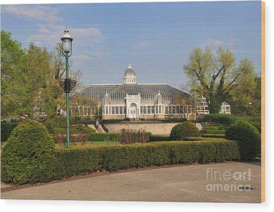 D5l311 Franklin Park Conservatory Wood Print