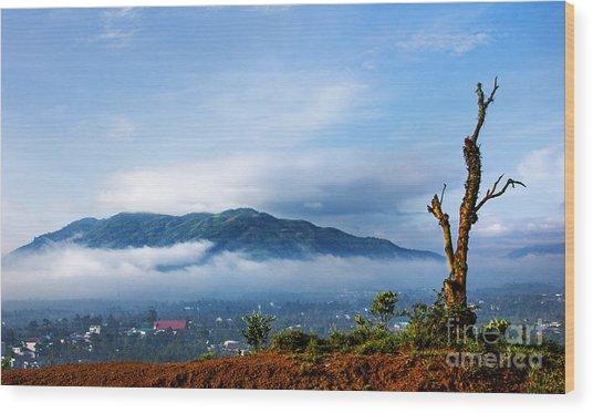 Dai Binh Mountain Wood Print