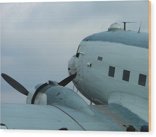 Dakota C-47 Wood Print by Philip Rispin