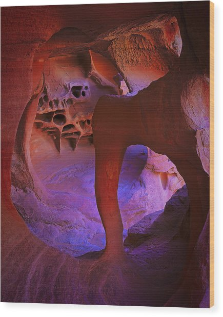 Dali's Dream Wood Print