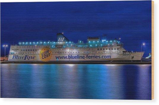 Dalmatia Wood Print by Ships in Split