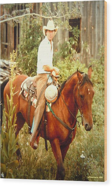 Dan Fogelberg Riding By The Old Schoolhouse Wood Print