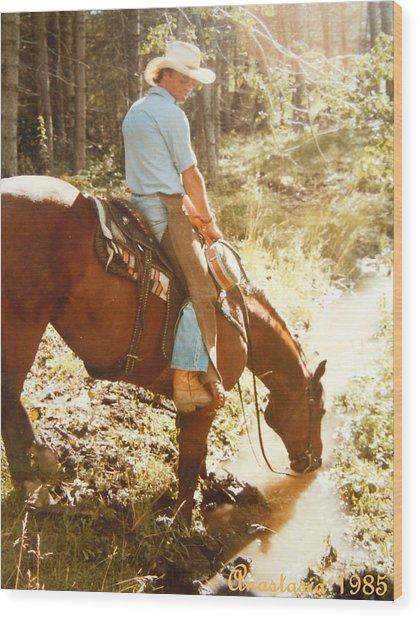 Dan Fogelberg Scenes From A Western Romance I Wood Print