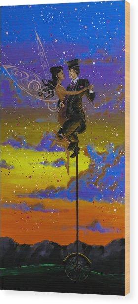 Dance Enchanted Wood Print