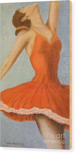 Dance Fever... Wood Print