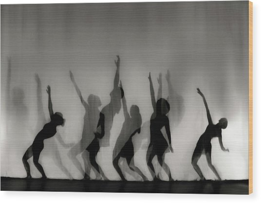 Dance Is The Language Of The Soul ... Wood Print