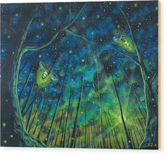 Dance The Night Away Wood Print