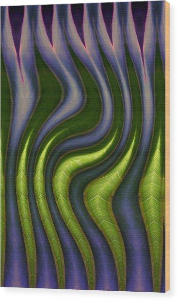 Dancing Snakes Wood Print