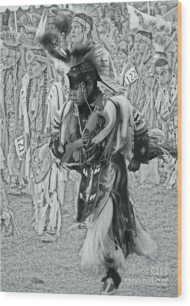 Dancing With Ancestors Silver Screen Wood Print by Scarlett Images Photography