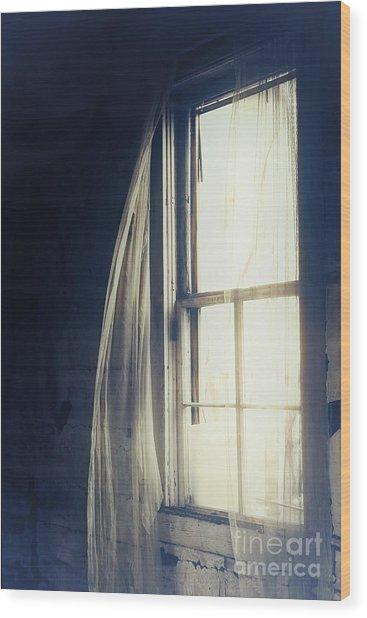 Dark Dreams Wood Print