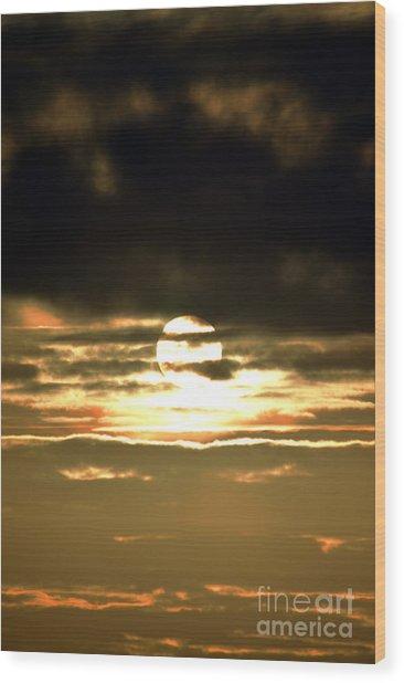 Dark Skys Wood Print by Sheldon Blackwell