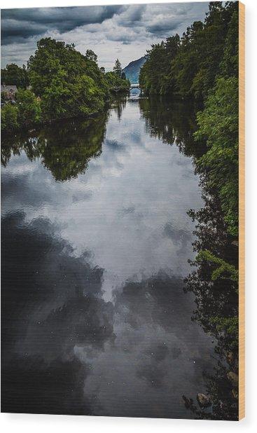 Dark Waters Of Loch Ness Wood Print