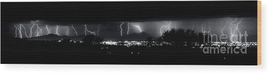 Darkness Symphony-15x72-signed Wood Print