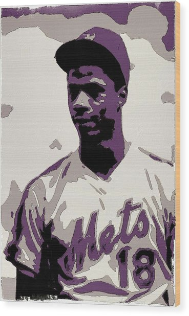Darryl Strawberry Poster Art Wood Print