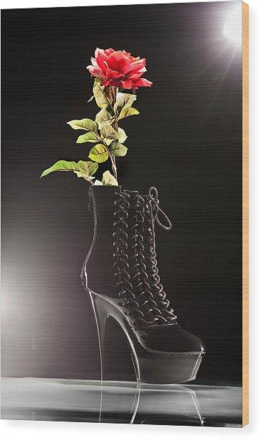Dat Boot Wood Print