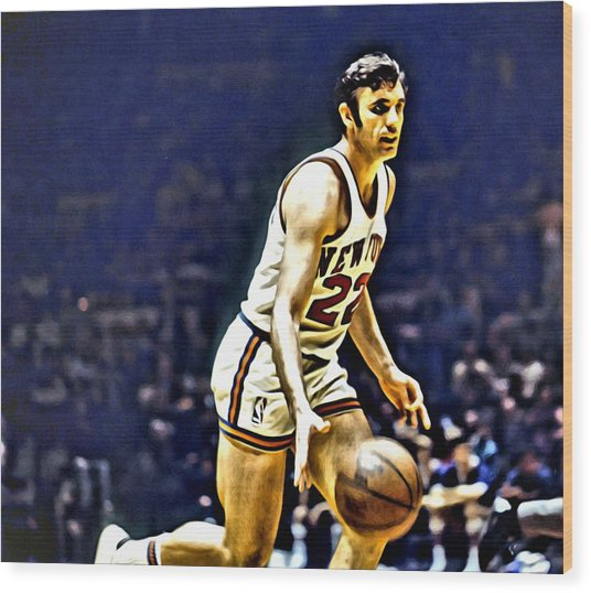Dave Debusschere Wood Print