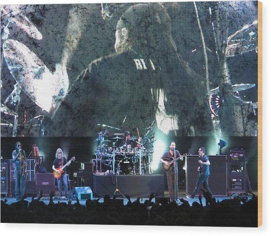 Dave Matthews Band Rocks Final Four Weekend Wood Print