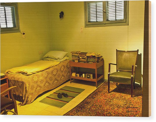 David Ben-gurion - His Bedroom Wood Print