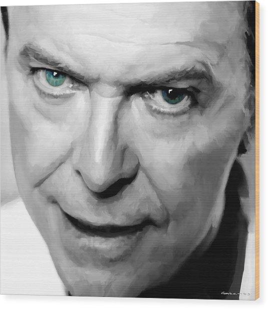 David Bowie In Clip Valentine's Day - 1 Wood Print